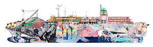 A ferry by Dongwan Kook contemporary artwork