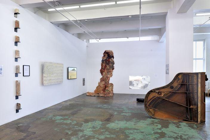 Exhibition view: Group Exhibition,ecofeminism(s), Thomas Erben Gallery, New York (19 June–26 September 2020). Courtesy Thomas Erben Gallery.