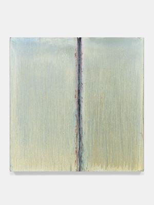 White Moon Abyss by Pat Steir contemporary artwork painting