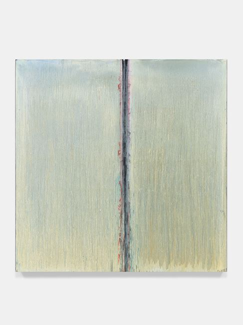White Moon Abyss by Pat Steir contemporary artwork