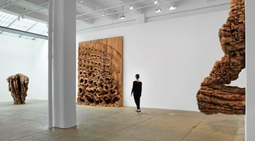 Contemporary art exhibition, Ursula von Rydingsvard, TORN at Galerie Lelong & Co. New York, New York