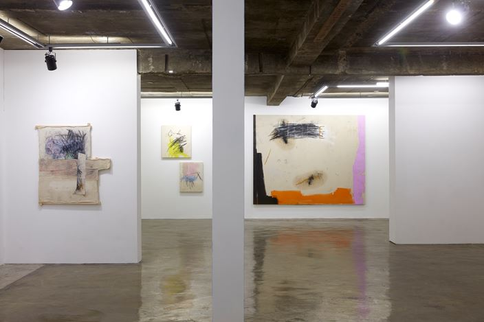Exhibition view: Jenny Brosinski, Catch me if you can,CHOI&LAGER Gallery, Seoul (20 February–27 March 2019). Courtesy CHOI&LAGER Gallery.