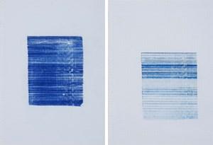 rain, 1 mm V, VI by Tanya Goel contemporary artwork