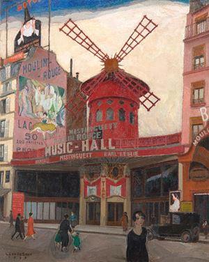 Le Moulin Rouge by LEON DE SMET contemporary artwork