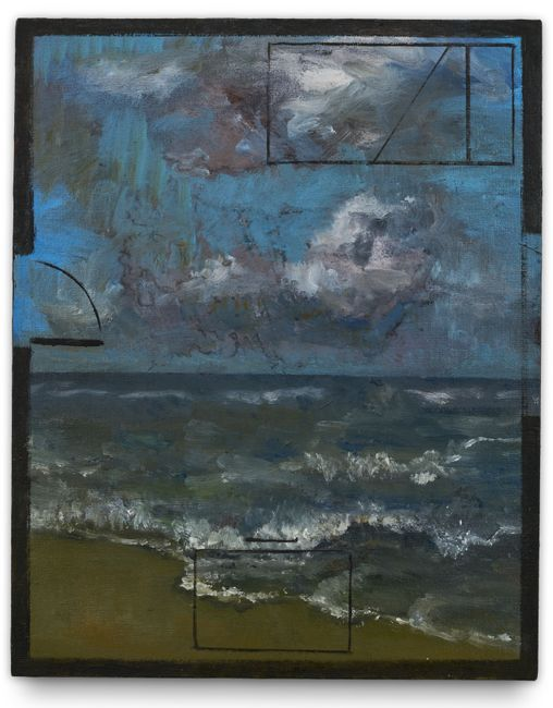 Planta Mar by Guillermo Kuitca contemporary artwork