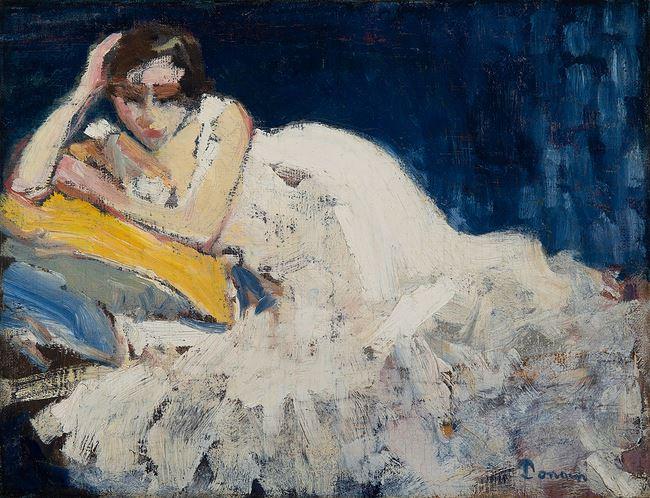 Le retour de bal de Guus Van Dongen by Kees Van Dongen contemporary artwork