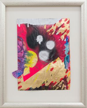 RIOT (exploded book: French Painting) by Miranda Parkes contemporary artwork