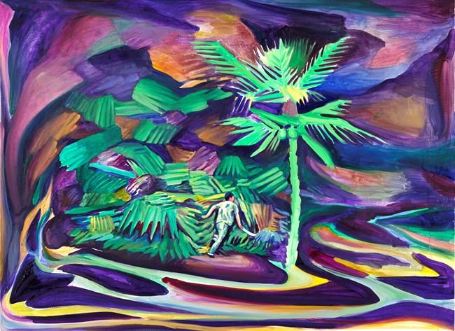 Jungle by Yu Guo contemporary artwork