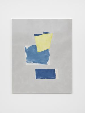 Blues and Yellow (Version 2) by Peter Joseph contemporary artwork