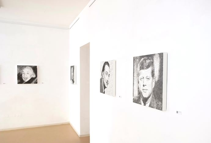 Exhibition view: Keita Sagaki,Hystorical Portraits, Micheko Galerie, Munich (29 October–19 December 2020). Courtesy Micheko Galerie.