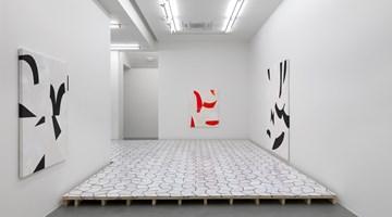 Contemporary art exhibition, Sarah Crowner, Plastic Memory at Simon Lee Gallery, London