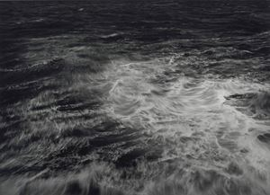 The Swelling of the Sea - Furthest West - The Atlantic Ocean - Point Ardnamurchan, Scotland - The Westmost point of mainland Great Britain by Thomas Joshua Cooper contemporary artwork