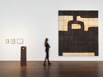 Exhibition view: Eduardo Chillida, Hauser & Wirth, Zürich (17 January–2 March 2019). © Zabalaga-Leku. ARS, New York / VEGAP, Madrid, 2018. Courtesy the Estate of Eduardo Chillida and Hauser & Wirth.
