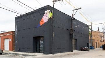 Contemporary art exhibition, Jessica Stockholder, Door Hinges at Kavi Gupta, Elizabeth St, Chicago