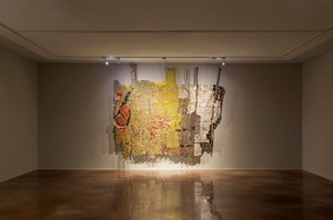 Dzi II by El Anatsui contemporary artwork