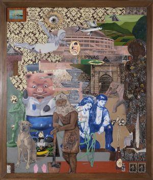 The Manila Paper by Kawayan de Guia contemporary artwork