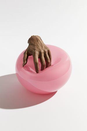 Feel Me (Flesh) by Kelly Akashi contemporary artwork