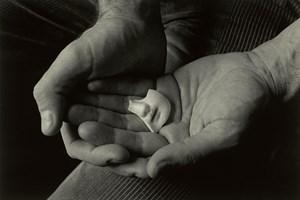 Poet's hands by Eva Rubinstein contemporary artwork