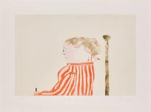 Whistler's Grandmother by Robert Hodgins contemporary artwork