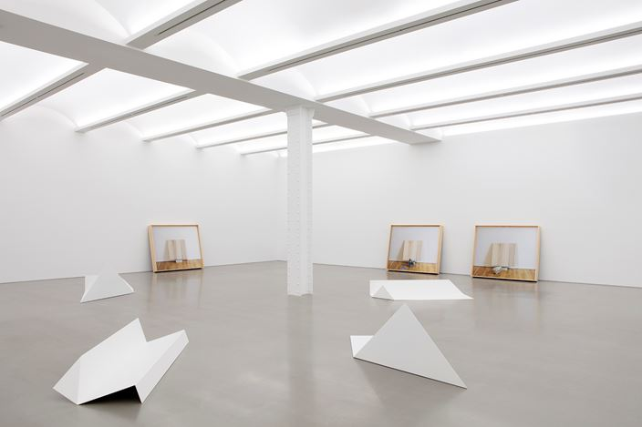 Exhibition view: Leslie Hewitt, Reading Room, Perrotin, New York (11 September–26 October 2019). Courtesy the artist and Perrotin. Photo: Guillaume Ziccarelli.