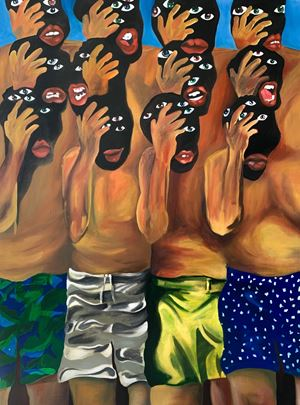 Life is what happens by Lerato Motaung contemporary artwork