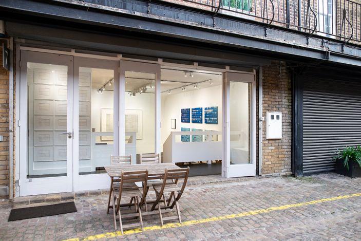 Exhibition view: Susan Morris, ONGOING WORK, Bartha Contemporary, London (28 September–17 October 2021). Courtesy Bartha Contemporary.