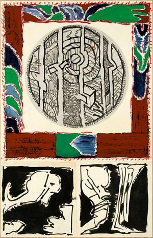 Gradins by Pierre Alechinsky contemporary artwork