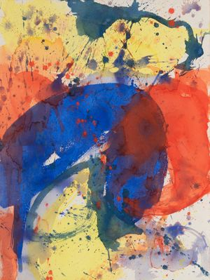 Untitled by Sam Francis contemporary artwork