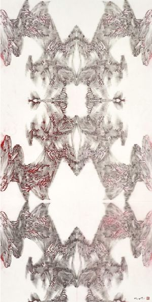 The Six Principles of Chinese Painting- Transmission XX (with Hung Hoi) by Hung Fai contemporary artwork