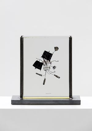 Fossile del 2000 by Bruno Munari contemporary artwork sculpture