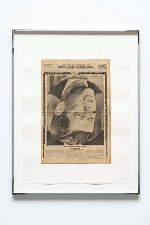 Saturday, November 23, 1963 by Oscar Tuazon contemporary artwork