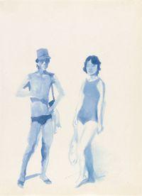 Hometown Boy Print Series #2 by Liu Xiaodong contemporary artwork painting