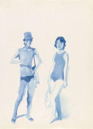 Hometown Boy Print Series #2 by Liu Xiaodong contemporary artwork