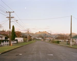 Goldfinch Street, Taihape by Harry Culy contemporary artwork