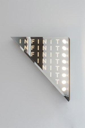 Infinito by Iván Navarro contemporary artwork
