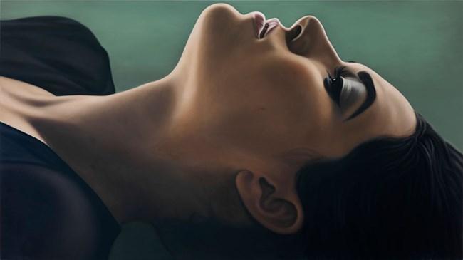 Sasha III by Richard Phillips contemporary artwork