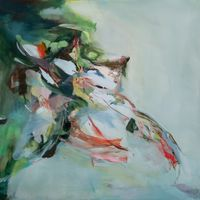 bird song by Hollis Heichemer contemporary artwork painting