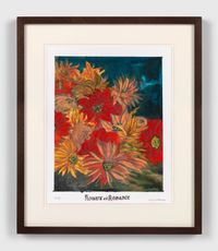 Flowers of romance by Marcel Dzama contemporary artwork painting, works on paper, drawing