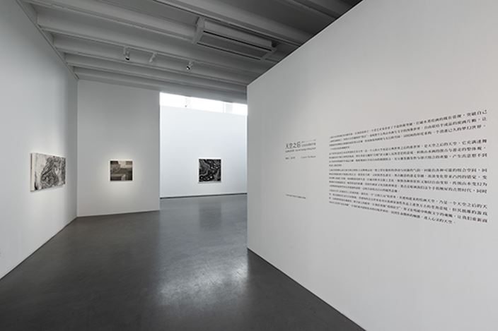Exhibition view:Wang Jieyin, Boundless Sky – Wang Jieyin's New Ink Paintings, Asia Art Center, Beijing (6 November–20 December 2020). Courtesy Aisa Art Center.