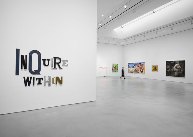 Exhibition view:Group Exhibition,Artists for New York, Hauser & Wirth, 22ndStreet, New York (1–22 October 2020). Courtesy Hauser & Wirth. Photo: Thomas Barratt.