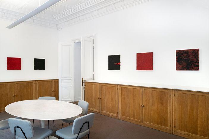 Exhibition view: Samuel Levi Jones, Rise Up, Galerie Lelong & Co., Paris (20 May–13 July 2021). Courtesy Galerie Lelong & Co.