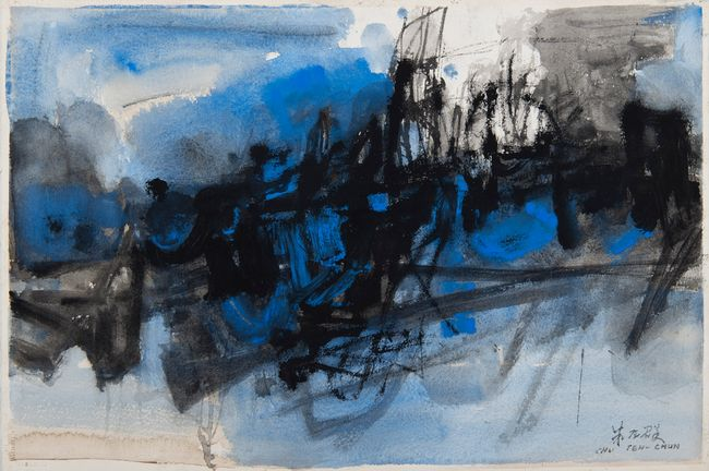 no.85 by Chu Teh-Chun contemporary artwork