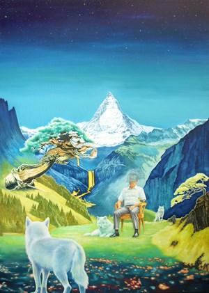 Oh Himalaya! by Jang Jongwan contemporary artwork