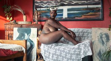 Contemporary art exhibition, Manyatsa Monyamane, Serithi at THK Gallery , Online Only, Cape Town