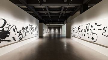 Contemporary art exhibition, Tong Yangtze, Moving Ink at Taipei Fine Arts Museum, Taipei