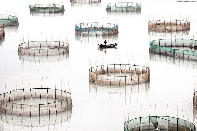 'Fujian #16 - Circles', Coastal Geometries, China by Tugo Cheng contemporary artwork