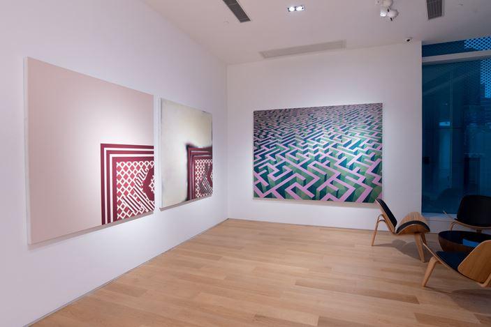 Exhibition view: Xu Qu, Straight Line,Tang Contemporary Art, Hong Kong (7 January–10 February 2021). Courtesy Tang Contemporary Art.