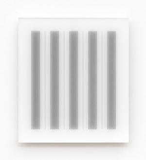 Acrylic piece 2012-5 by Hadi Tabatabai contemporary artwork