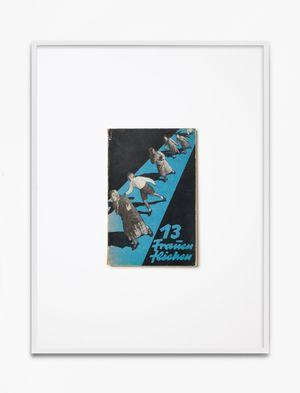 E(katerina) D. Nikitina,13 Frauen fliehen, 1930, Mopr Verlag, Berlin, Einbandgestaltung Günther Wagner by Annette Kelm contemporary artwork