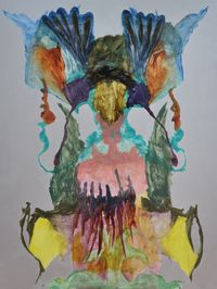 Abaddon by Belem Lett contemporary artwork painting